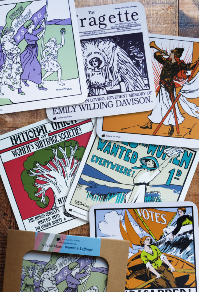 Suffrage table mat collection