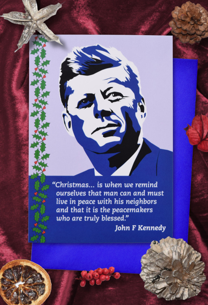 Radicals at Christmas: John F Kennedy Christmas cards