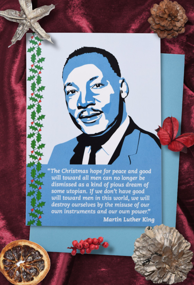Radicals at Christmas: Martin Luther King Christmas cards