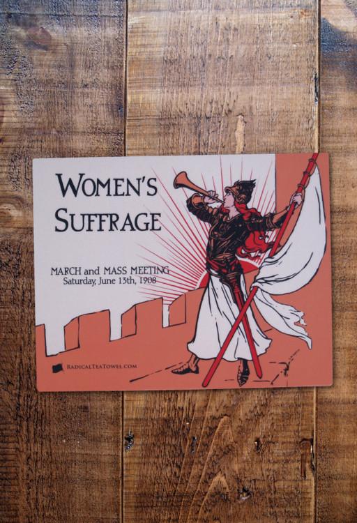 Bugler Girl mouse mat