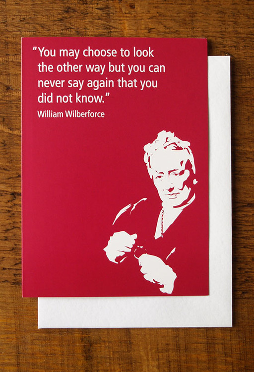 William Wilberforce cards pack of 8