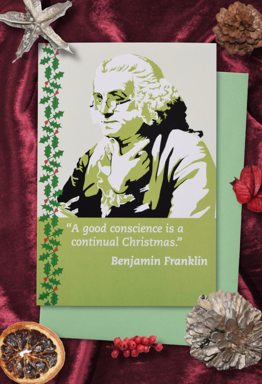 Radicals at Christmas: Benjamin Franklin Christmas cards