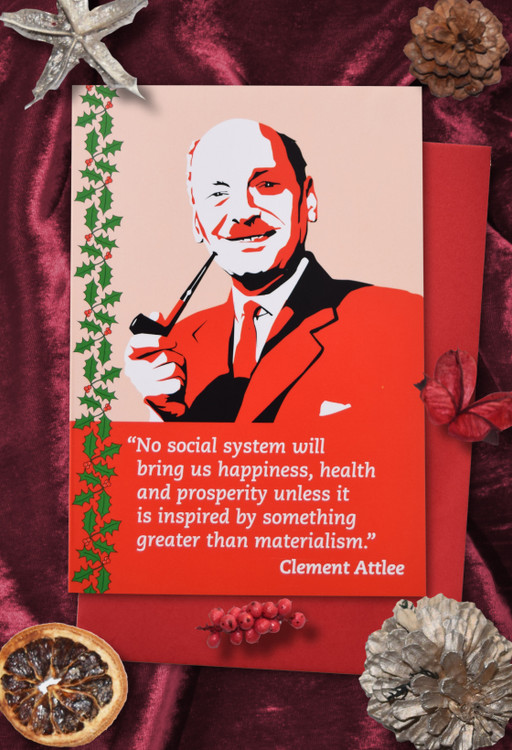 Radicals at Christmas: Clement Attlee Christmas cards