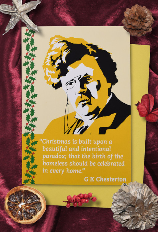 Radicals at Christmas: G K Chesterton Christmas cards