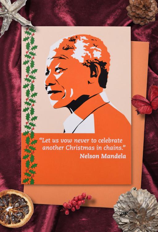 Radicals at Christmas: Nelson Mandela Christmas cards