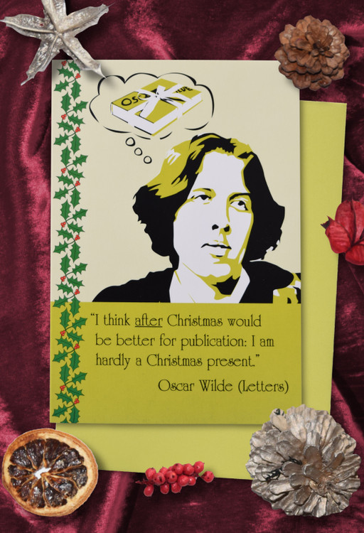 Radicals at Christmas: Oscar Wilde Christmas cards