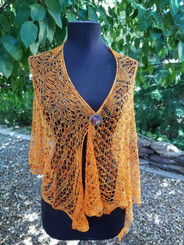 Lace Majestic Mountains - Beaded -Custom Knit