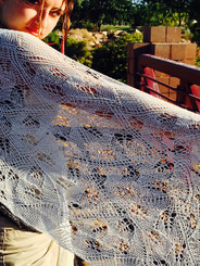 Falling Leaves Shawl Pattern