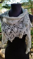 Grace Lace Shawl Pattern
