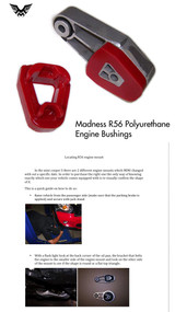 Madness MINI Cooper S Polyurethane Engine Bushings