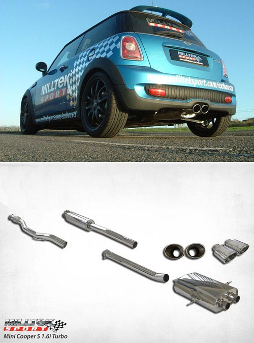 Milltek 2007 New MINI Cooper S turbo Quickfit Exhaust system
