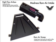 Madness Ram Air Intake for the 2007-2013 MINI Cooper S, Clubman S, Cabrio S, Roadster S and JCW models