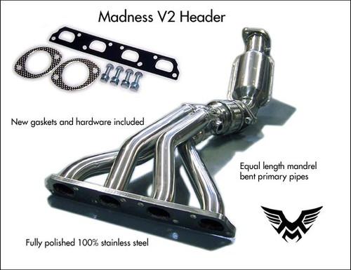 Madness New MINI Cooper S V2 Exhaust Header