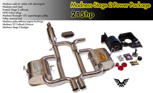Madness MINI Cooper S Stage 2 Power Package