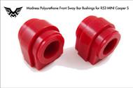 Madness R53 Polyurethane Front Sway Bar Bushings