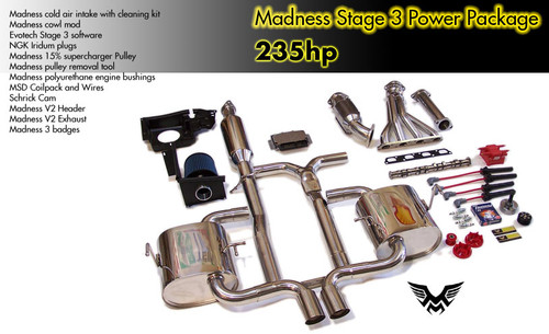 Madness MINI Cooper S Stage 3 Power Package