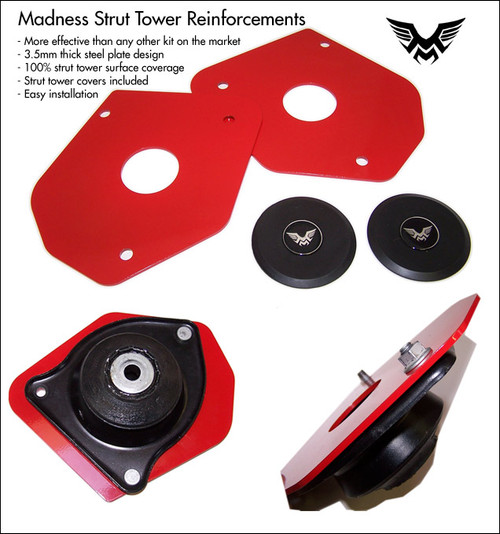 New MINI Cooper S Strut Tower Reinforcement Plates for the 2007-2014 R56