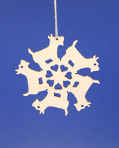 Scottie Pinwheel Ornament