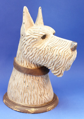 Wheaten Scottie Head