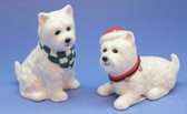 Westie Salt and Pepper - front