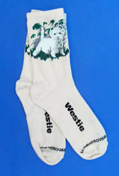 Westie Socks Size 10-13