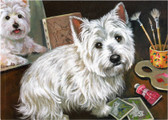 """A Loyal Subject"" Westie Card"