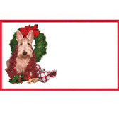 Wheaten Scottie Gift tag