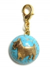 Maximal Art Turquoise Charm