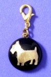 Maximal Art Black Scottie Charm