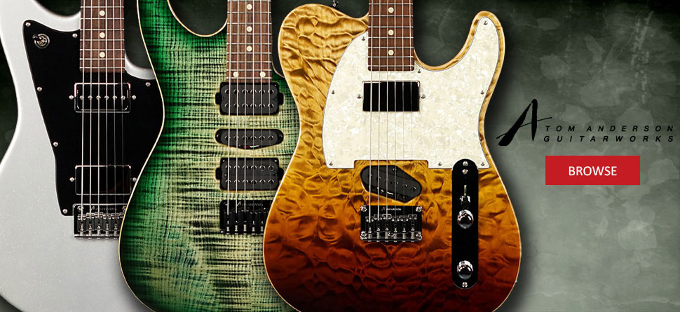 Tom Anderson Guitars | Raven, Drop Top, Cobra