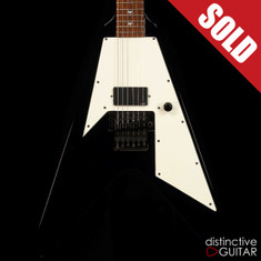 ESP Custom Shop Kirk Hammett Signature KH-1 Flying V Black
