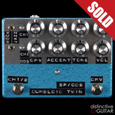 Shin's Music / Dumbloid Twin 2-Channel Overdrive Blue Hammer