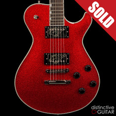 Knaggs Steve Stevens Signature SS2 Limited Edition Red Sparkle / Chrome