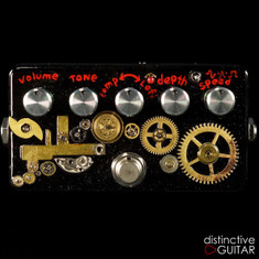 Zvex Instant Lo Fi Junky Custom Hand Painted Steampunk