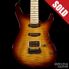 Fibenare Roadmaster FB Tom Quayle Signature Maple Tobacco Burst