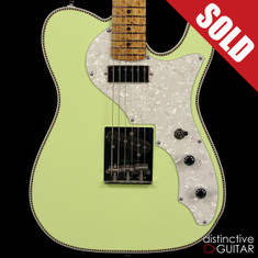 Red Rocket Custom Atomic Telecaster Lime Sherbert