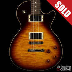 Tom Anderson Bulldog Tobacco Burst