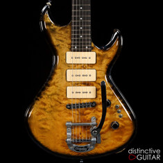 Laurent Caví© New Vintage Tobacco Burst Quilt