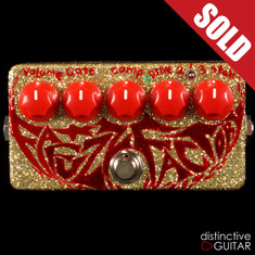 Zvex Fat Fuzz Factory Custom Swirl Paint B102