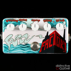 Zvex Fuzz Factory 20th Anniversary Limited Edition #17/20 Hand Painted