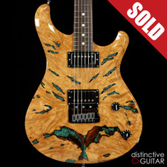 Knaggs Severn T3 Trembuck Burl Maple Chrysocolla