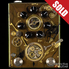 Zvex Fuzz Factory 7 Hand Painted Steampunk C011