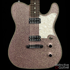 Red Rocket Custom Atomic Telecaster Champagne Sparkle