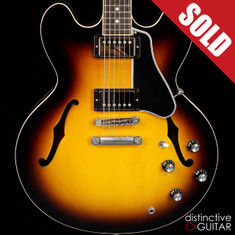Gibson Custom Shop Memphis ES-335 Dot Vintage Sunburst