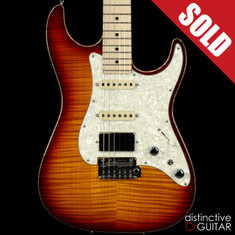 Tom Anderson Drop Top Classic Dark Cherry Burst
