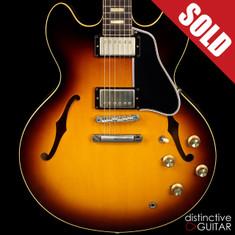 Gibson Custom Shop ES-335 1963 Reissue Historic Sunburst