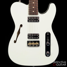 Suhr Classic T Custom Olympic White Double Bound 28455