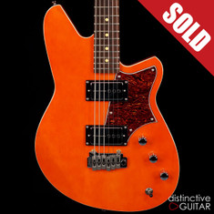 Reverend Descent H90 Baritone Rock Orange