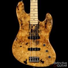 Suhr Classic J Custom Jazz Bass Buckeye Burl 28319
