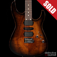 Tom Anderson Angel Koa Black Shaded Edge